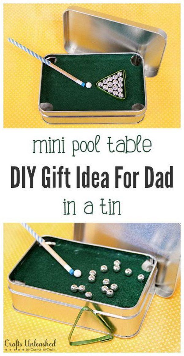 DIY Mini Pool Table