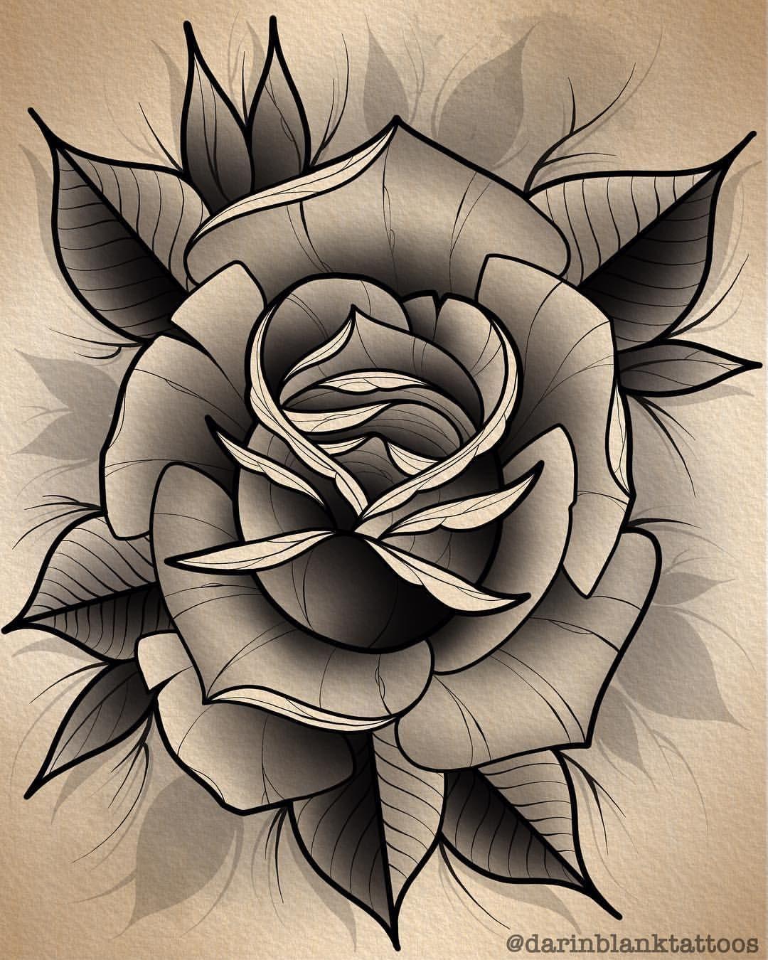 Rose Yo Happy Thanksgiving Everyone Tattoo Tattoos Tattooart Tattooartist Tatt Rose Flower Tattoos Traditional Rose Tattoos Rose Drawing Tattoo