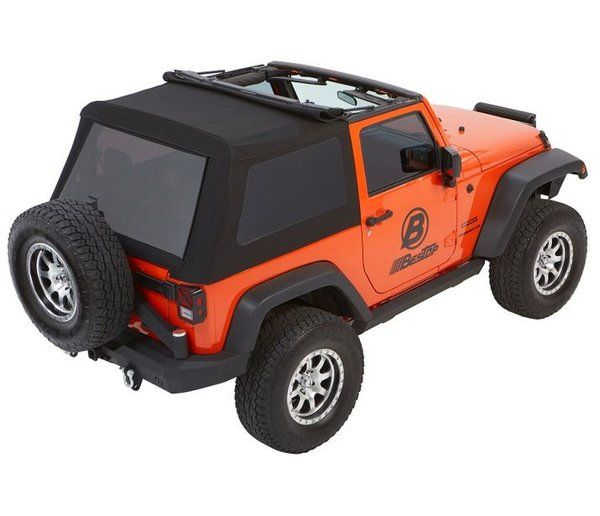 Bestop Trektop Nx Glide Convertible Soft Top 2 Door Jeep Wrangler Jk 5492235 5492217 With Images Jeep Wrangler