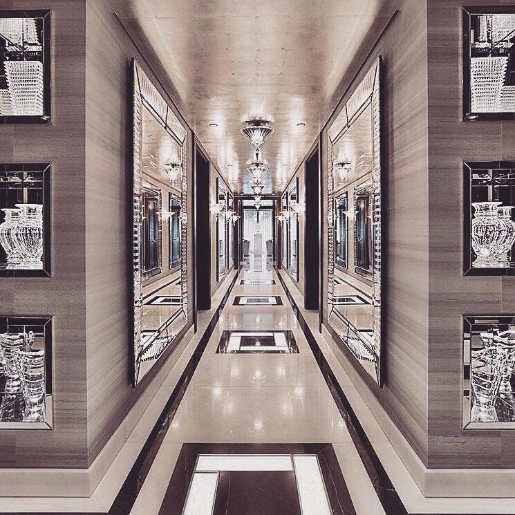 Amazing Foyer Love The Dark And White Wood Together: Amazing Classy Hallway