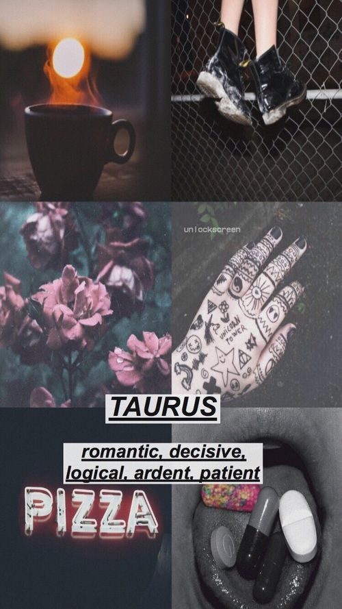 Taurus Aesthetic Tumblr Google Search Tauro Signos Astrologia