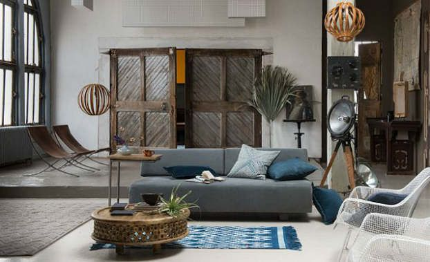 Beau Moorish Decor | Modern Moroccan Living Room Decorating Idea