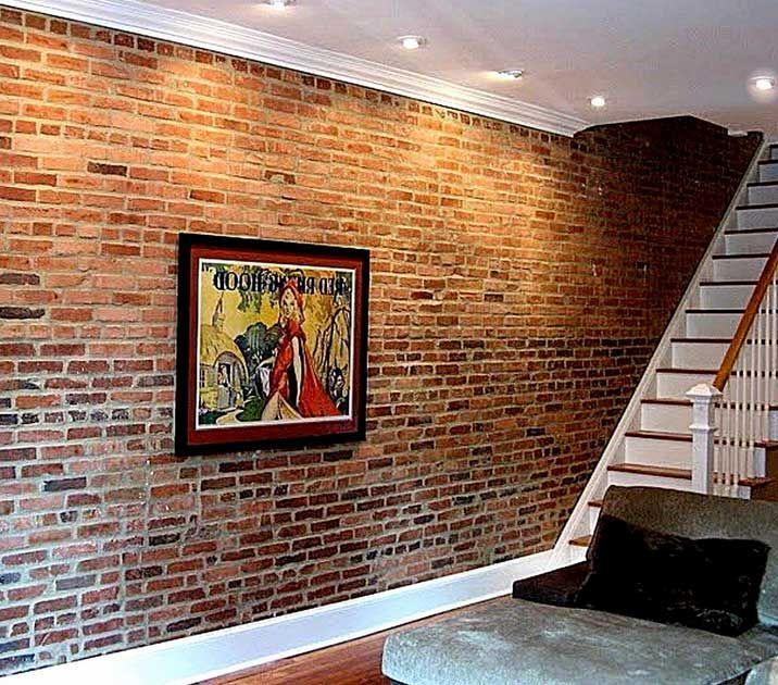 Stylish Basement Cave Man Decors Ideas With Artwork