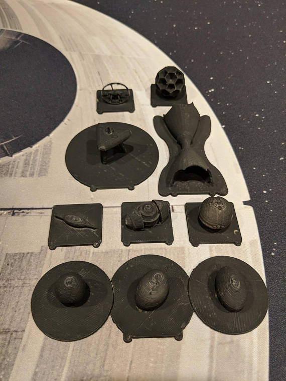 Bomb Tokens X-wing Miniatures Game