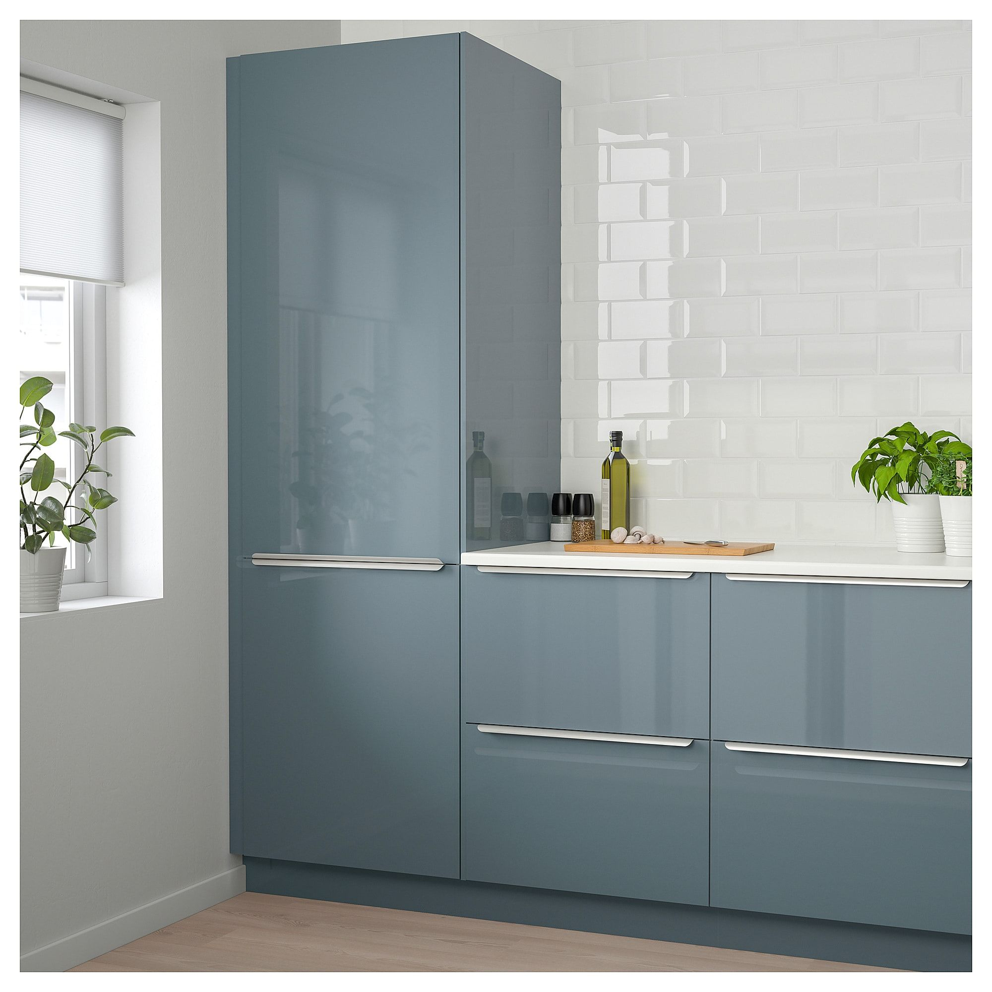 Best Ikea Kallarp Door High Gloss Gray Turquoise In 2019 400 x 300