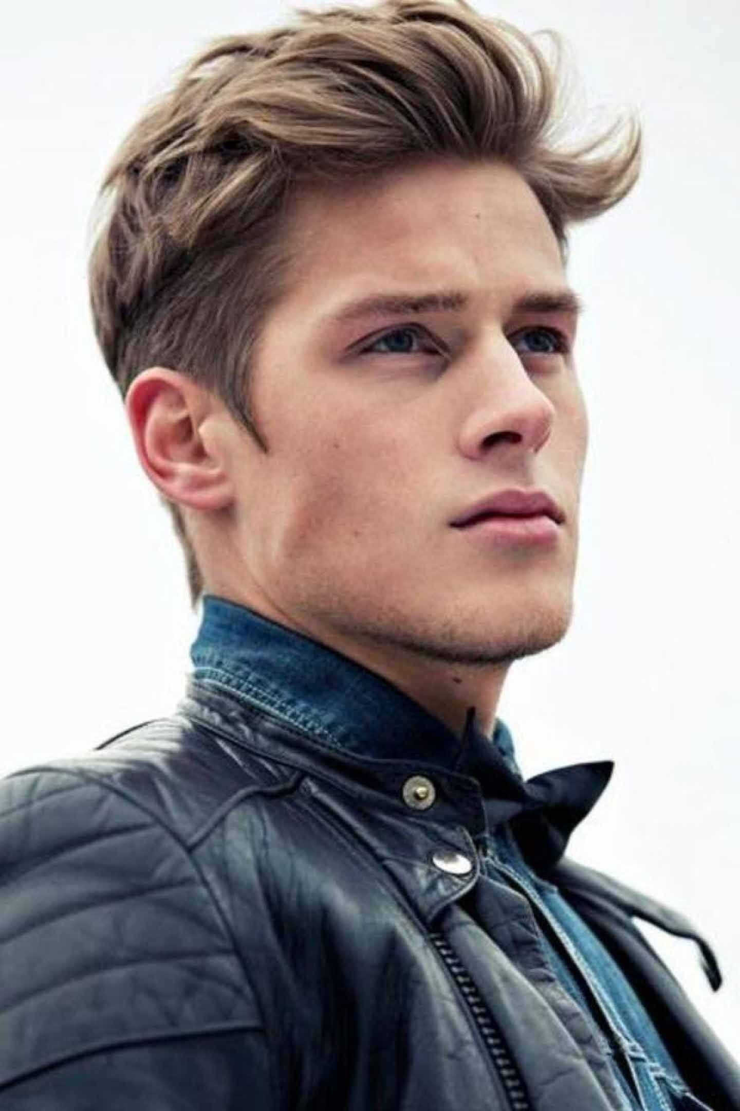 40 Hairstyles For Thick Hair Mens Hair Styles Pinterest Young