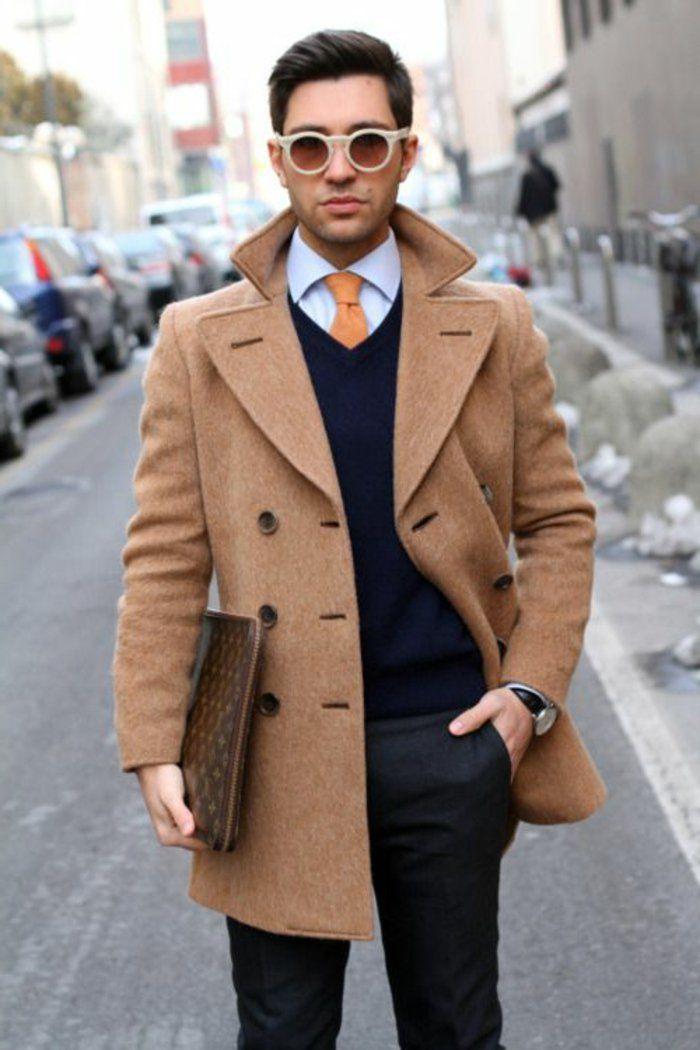 les tendances chez le manteau long homme en 48 photos mode manteau long homme manteau. Black Bedroom Furniture Sets. Home Design Ideas