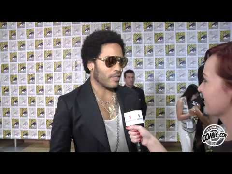 Lenny Kravitz Comic Con 2013 Exclusive Interview Hunger Games