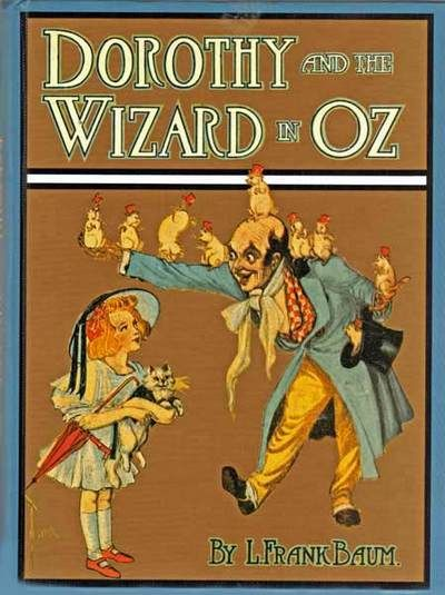 "May 15th: L.Frank Baum was born on this day in 1856. He wrote a book entitled, ""Dorothy and the Wizard of Oz."" I believe it was turned into a movie of some sort. ;-)"
