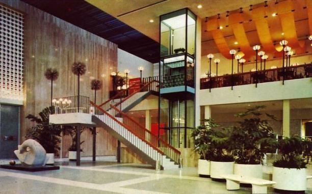 17 Jpg Terrace Restaurant Vintage Mall Glass Elevator