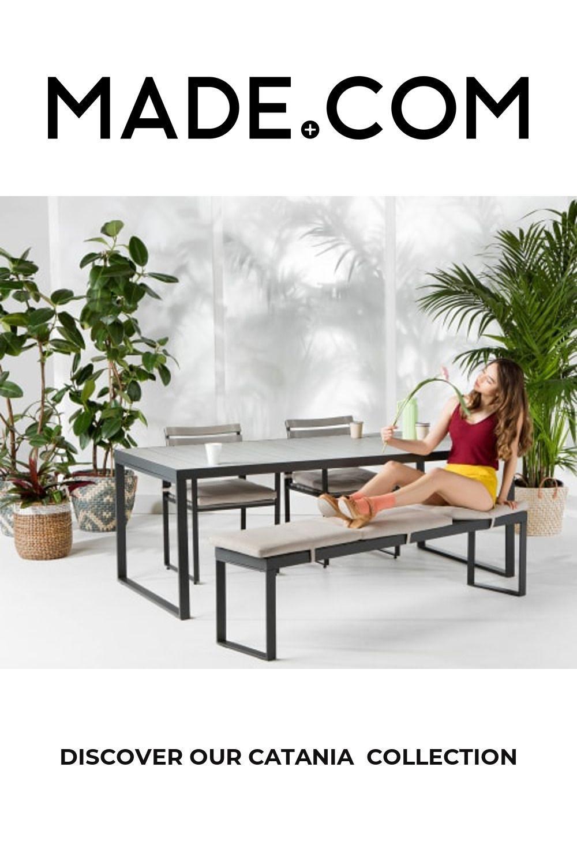 Catania Garden 8-Sitzer Esstisch, Polywood