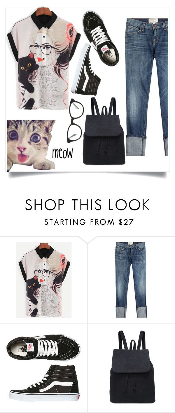 """untitled 5.3"" by goodvibes00 ❤ liked on Polyvore featuring Current/Elliott, Vans and Paul Smith"