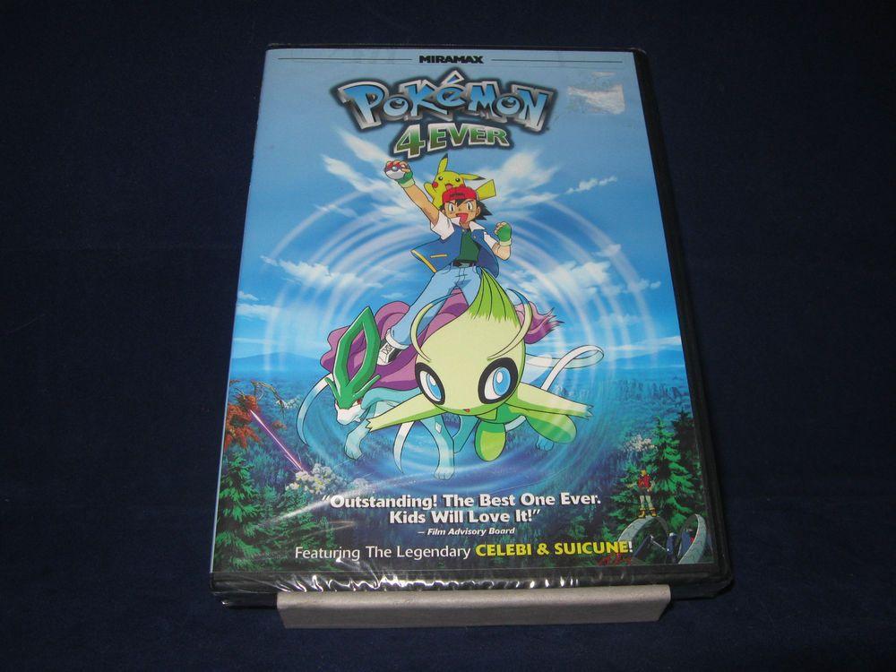 Pokemon 4ever Dvd 2011 Pokemon Anime Dvd Animation New