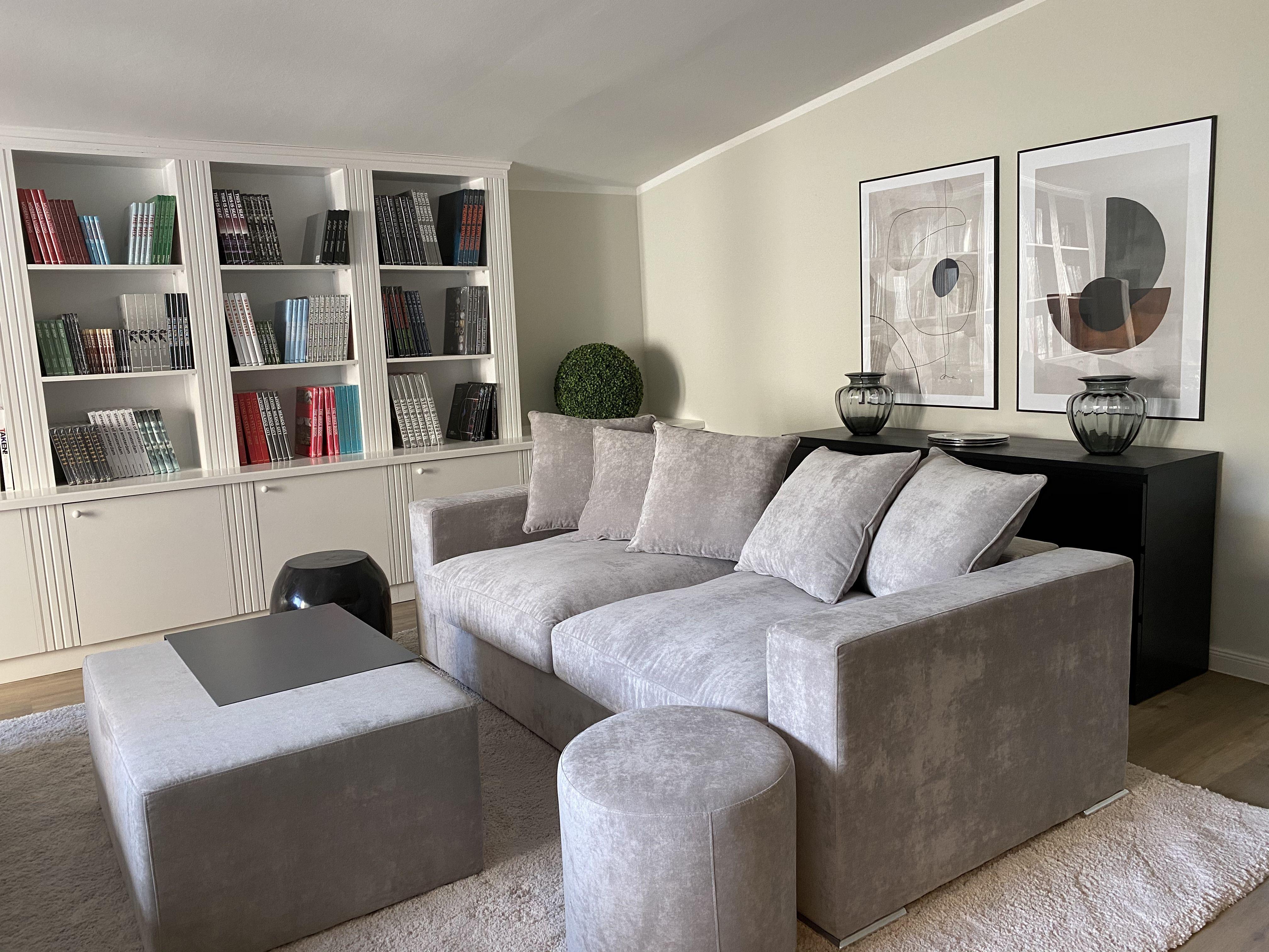 Samtsofa Cooper 3 Sitzer Grau In 2020 Samt Sofa Wohnen Sitzecke