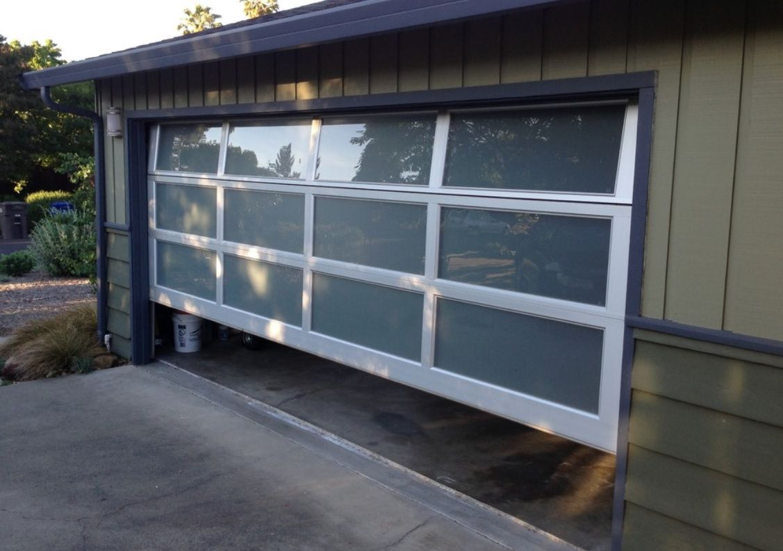 Modern garage door glass - Statue Of Impressive Mid Century Modern Garage Doors The Perfect Combination Of Aged And Modern