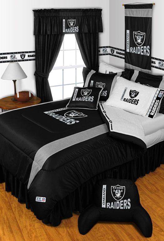 Nfl Oakland Raiders, Oakland Raiders King Bedding