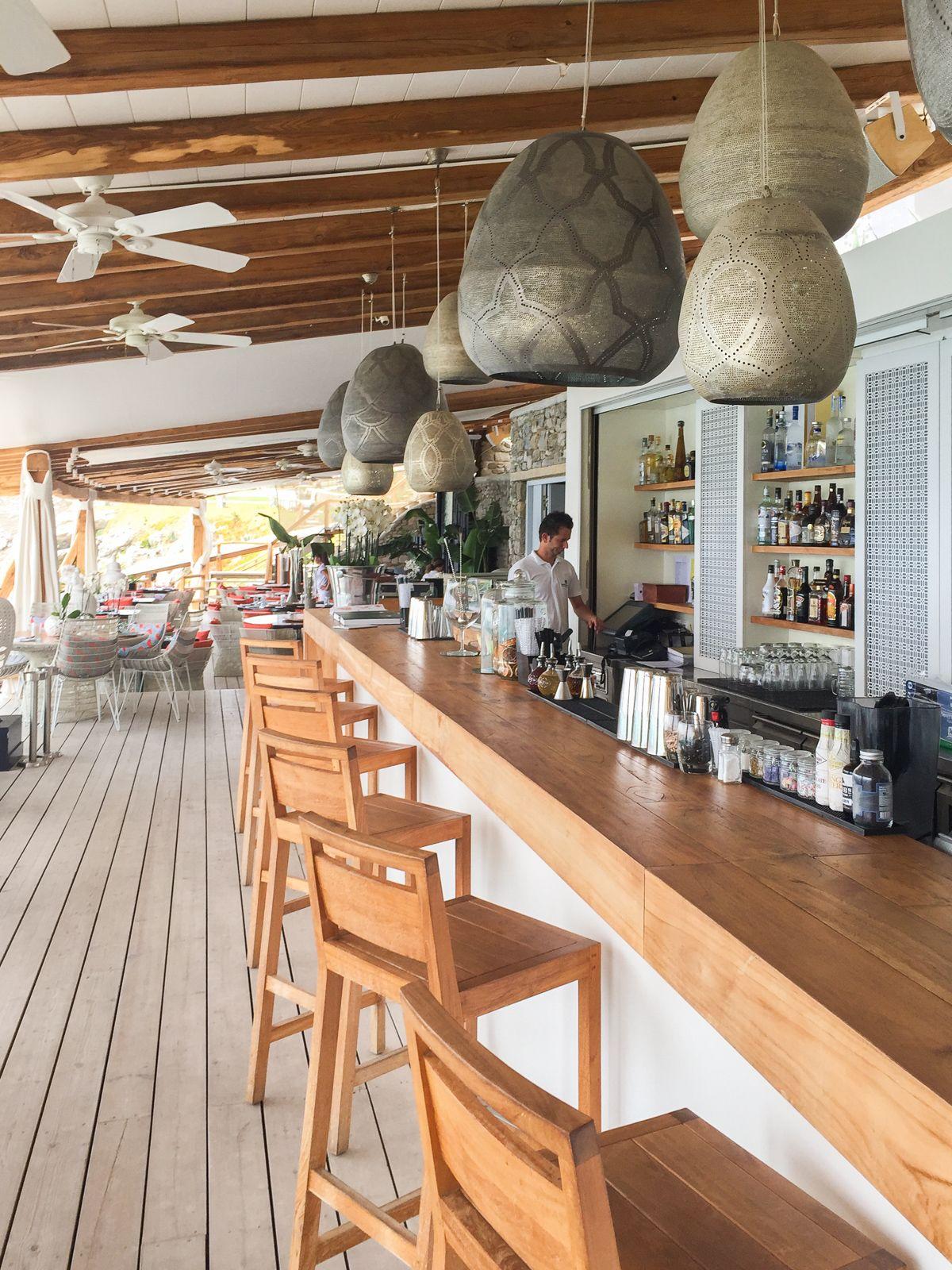 Mykonos Style Buddha Beach Bar Www Santa Marina Gr Bar Design