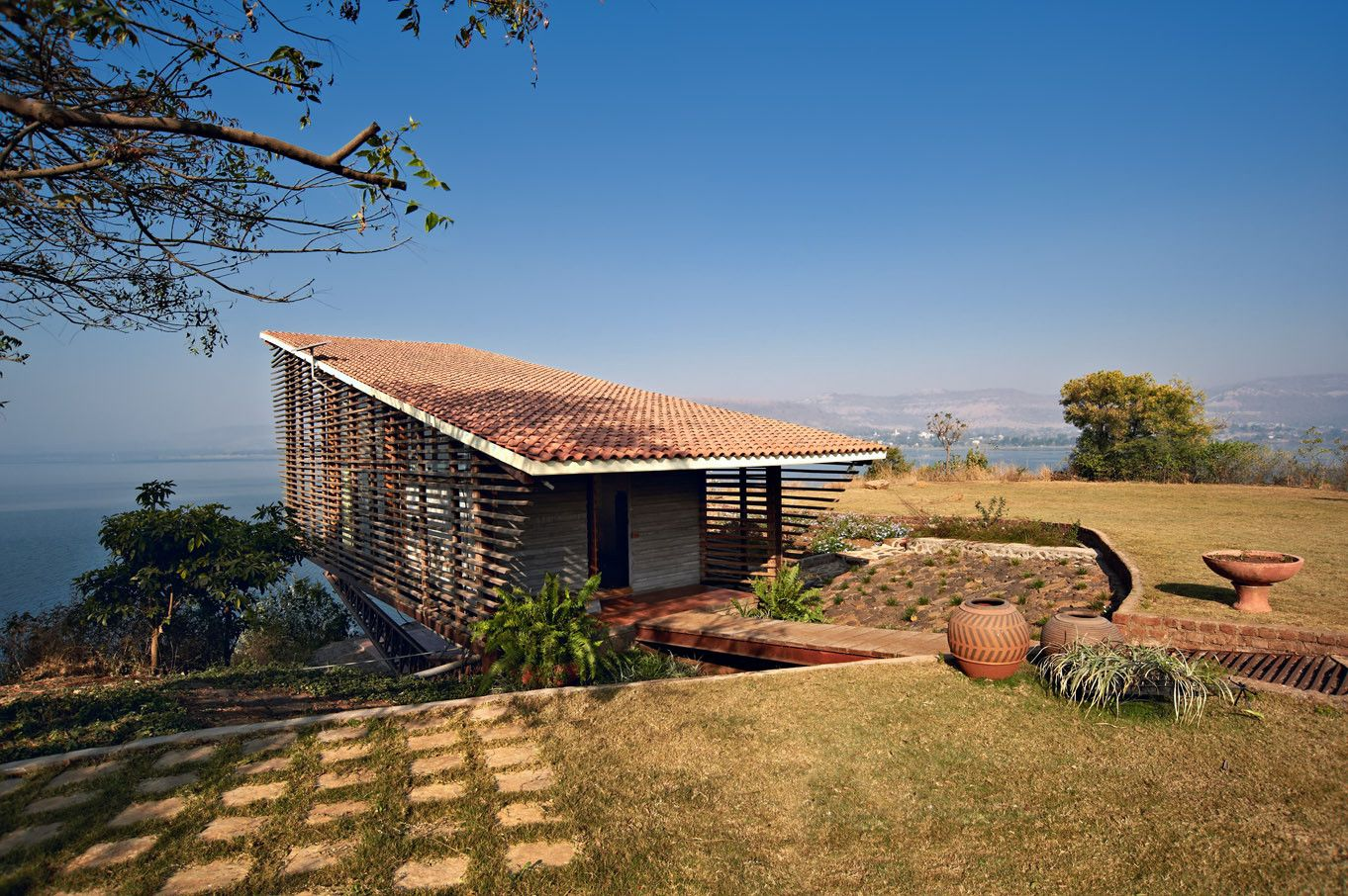 Distance Shot Over Water House | Exterior | Pinterest | Distance, Winsome  Wood And House