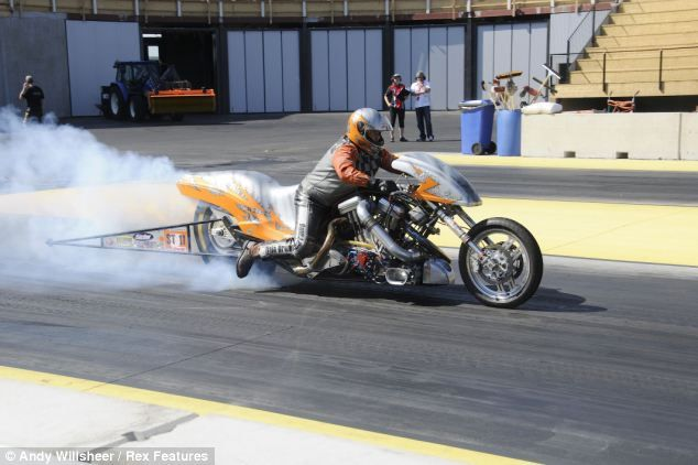 The real-life Ghost Rider: Biker engulfed in flames as his ...