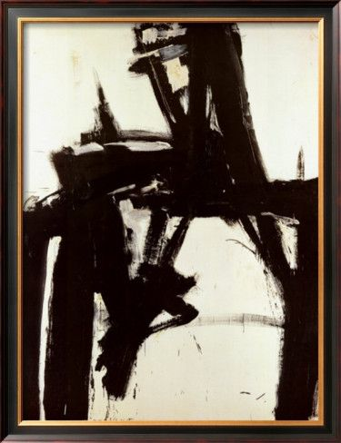 Untitled 1957 poster by franz kline at allposters com art wallswall