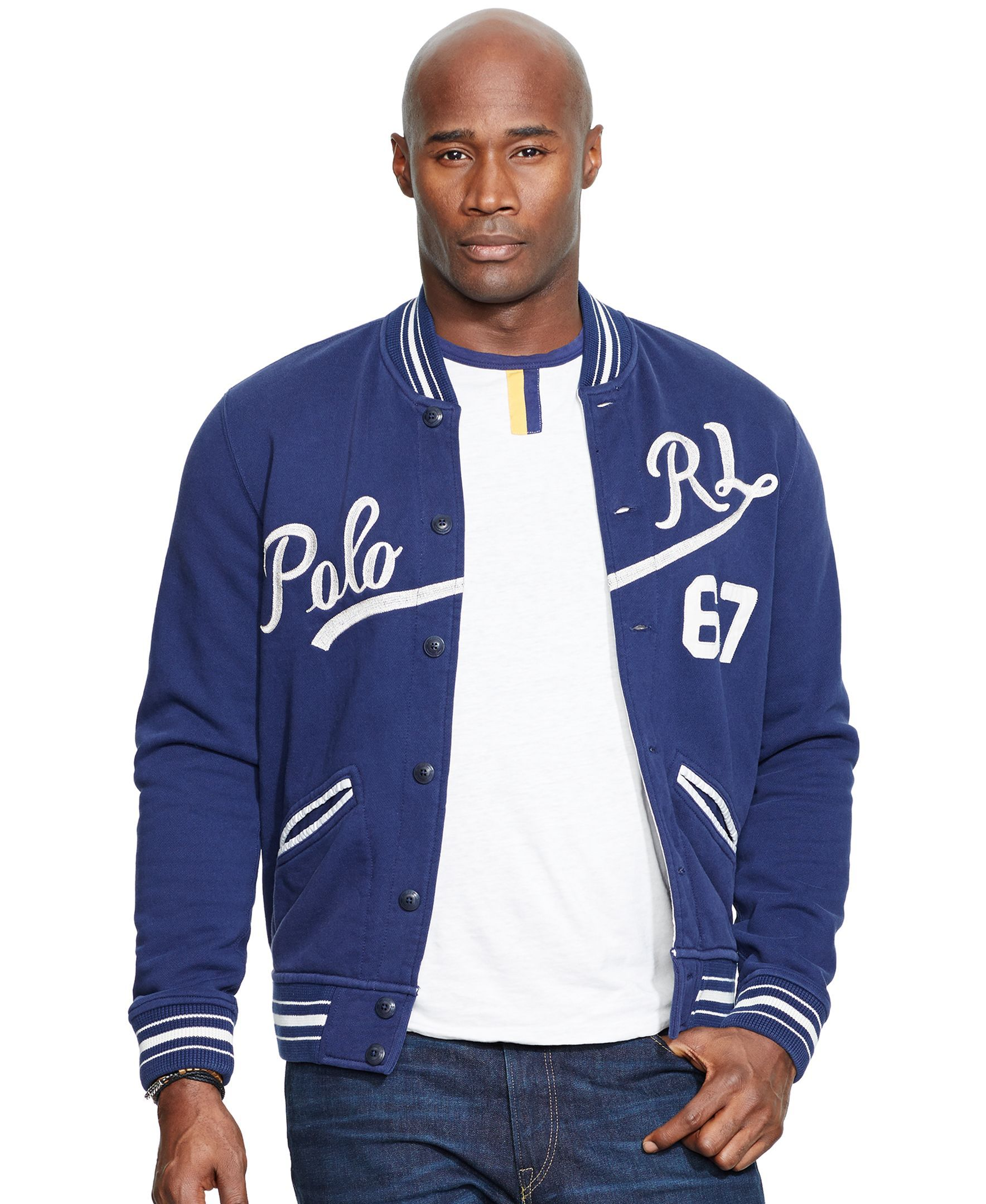 Polo Ralph Lauren Big & Tall Baseball Jacket