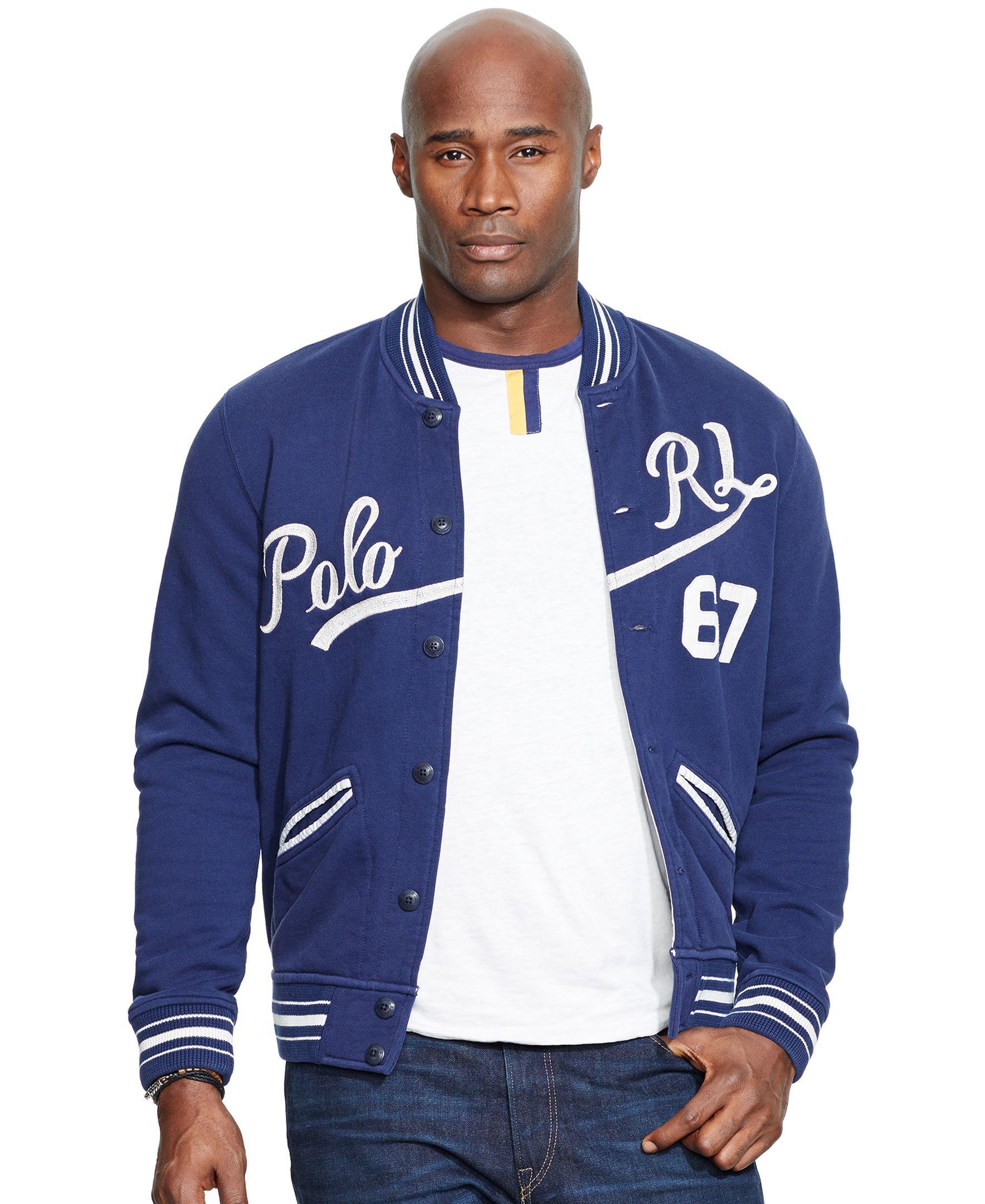 Polo Ralph Lauren Big & Tall Baseball Jacket