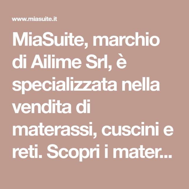 MiaSuite, marchio di Ailime Srl, è specializzata nella vendita di ...
