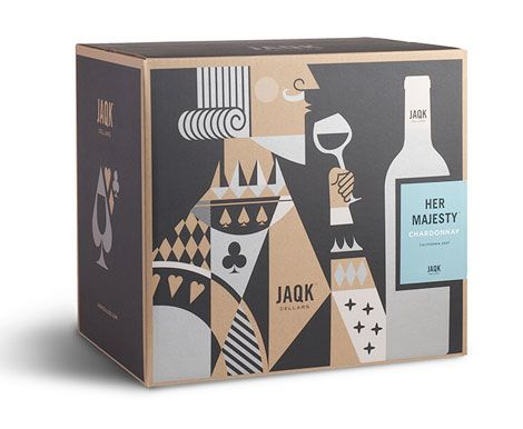 chardonnay packaging #jaqk #packaging