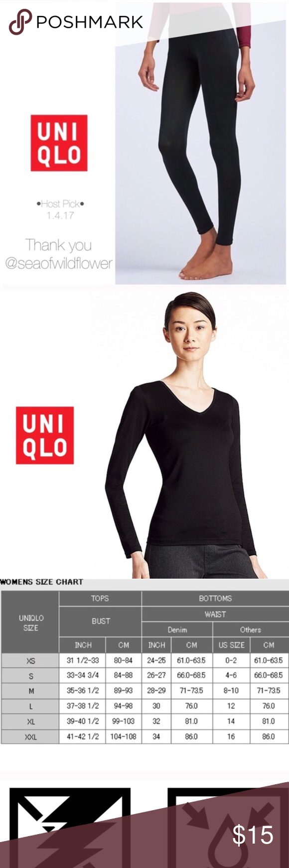 Sold Out New Uniqlo Xs Top Boutique Leggings Are Not Pants Uniqlo Pants Uniqlo Tops