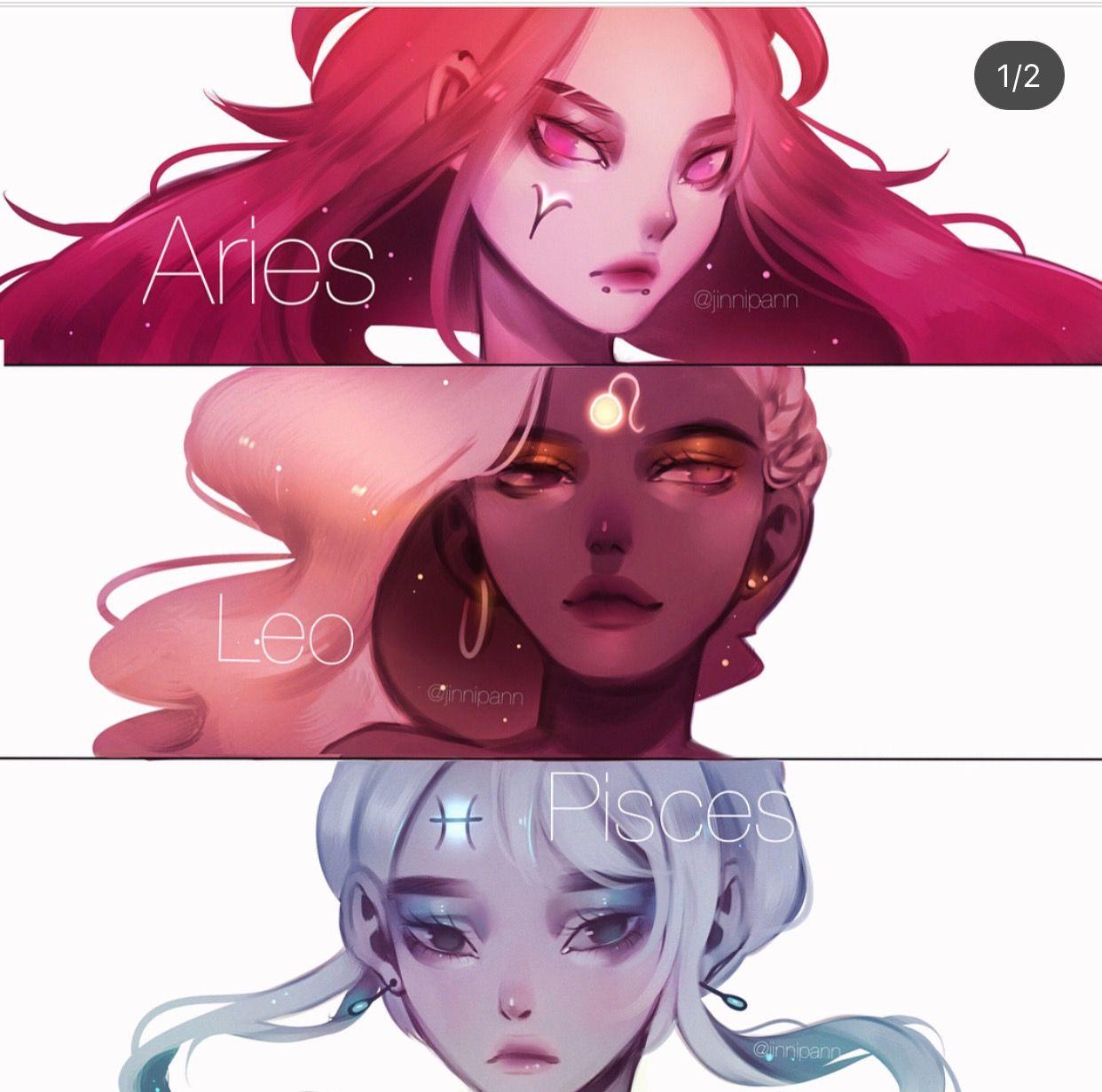 Anime Girl Zodiac Signs: Anime Zodiac Signs
