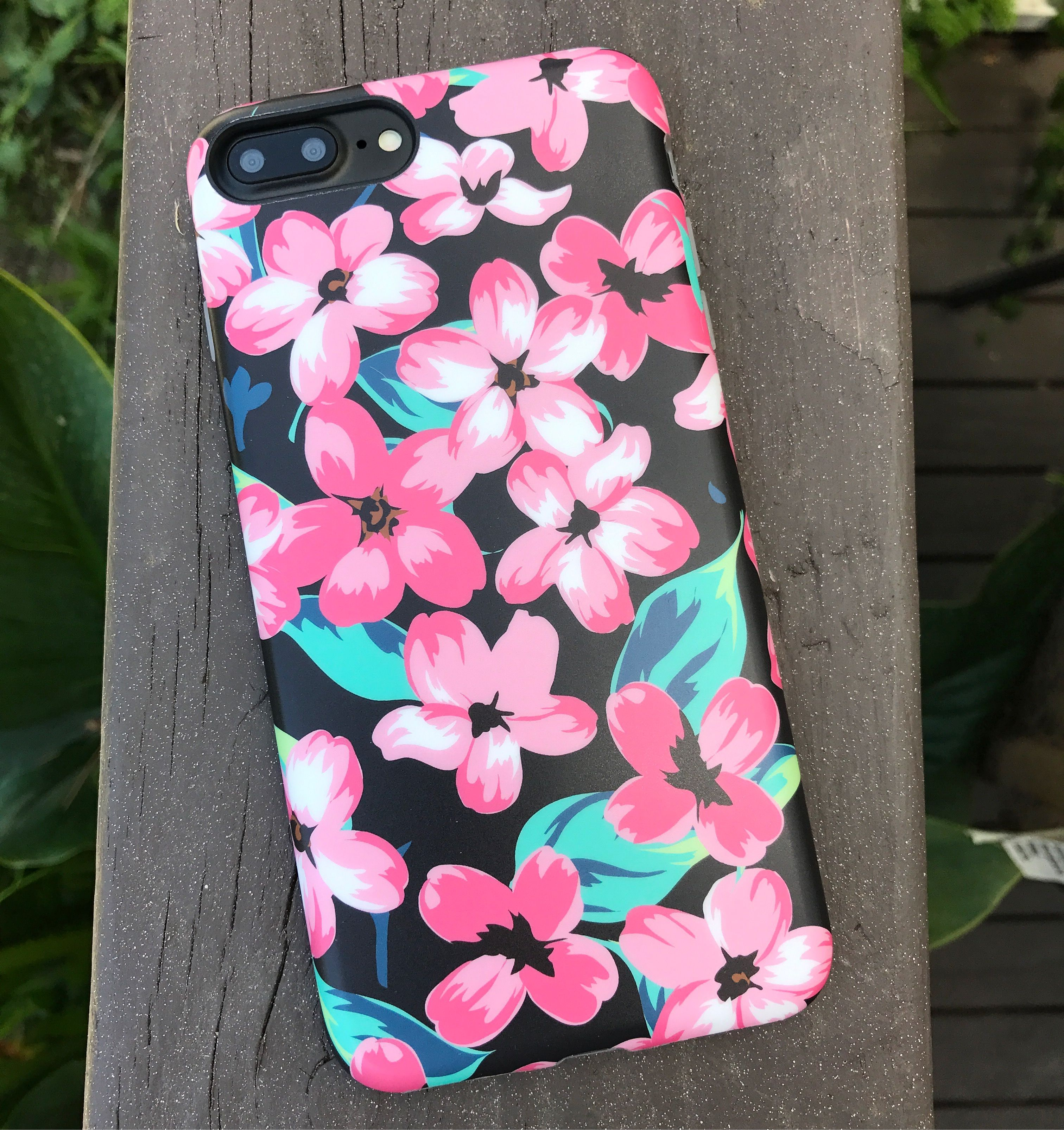 Nightlily  Feeling Floral with the Nightlily Case from Elemental Cases available for iPhone 7 & iPhone 7 Plus