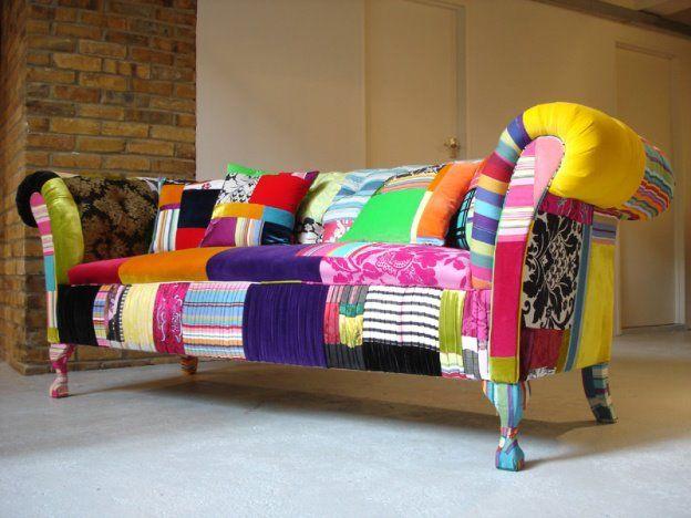 Sillones Coloridos.Colorido Sillon Home Decoracion Hogar Muebles Y Tapiceria
