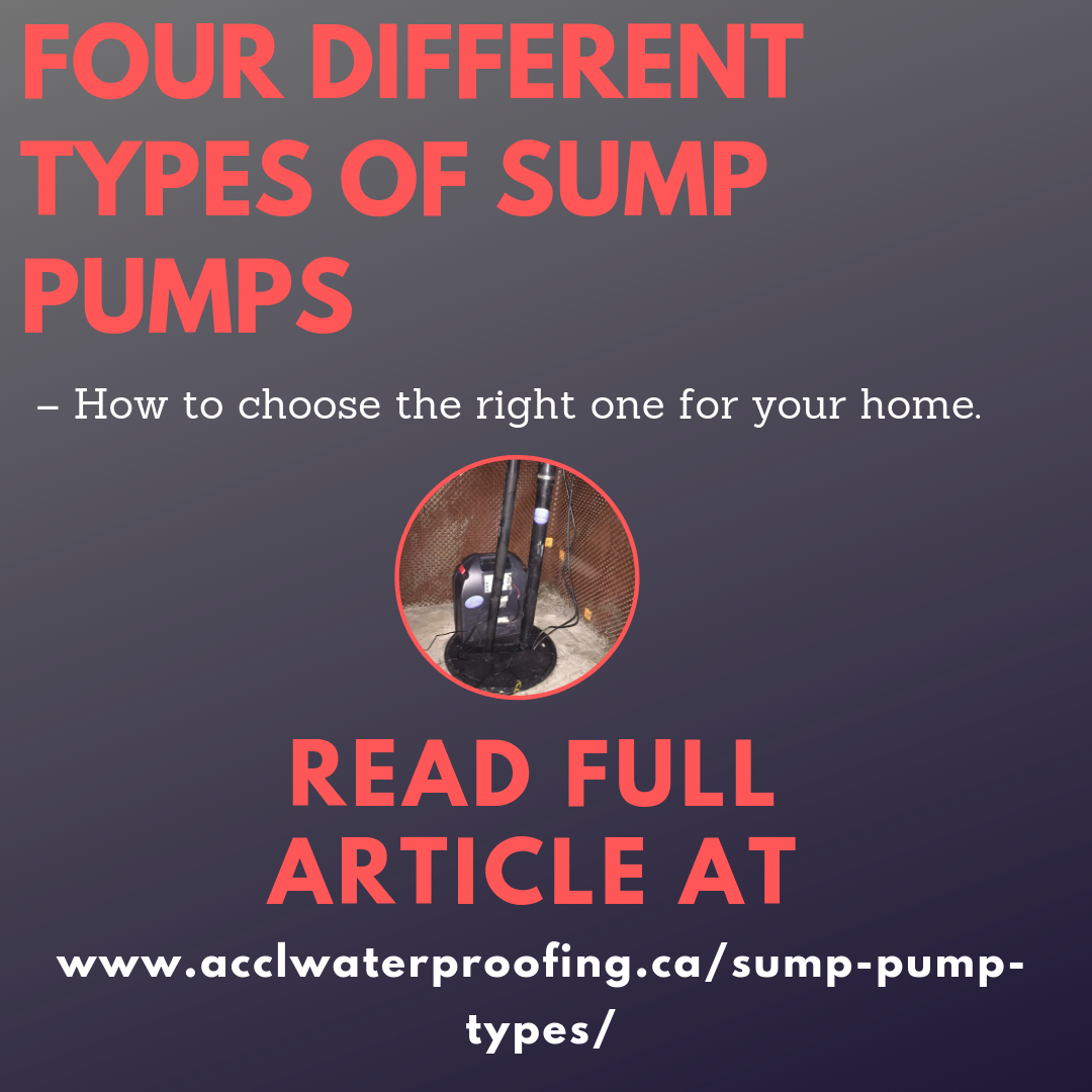 SUMP PUMPS PICKING THE RIGHT ONE FOR YOUR HOME! Sump