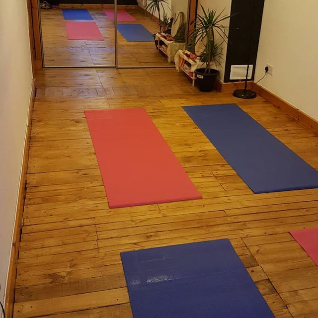 home studio for small classes and private one to one pilates