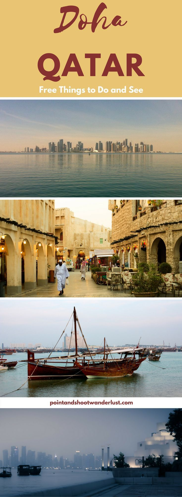10 Things To Do in Doha, Qatar for FREE #middleeastdestinations