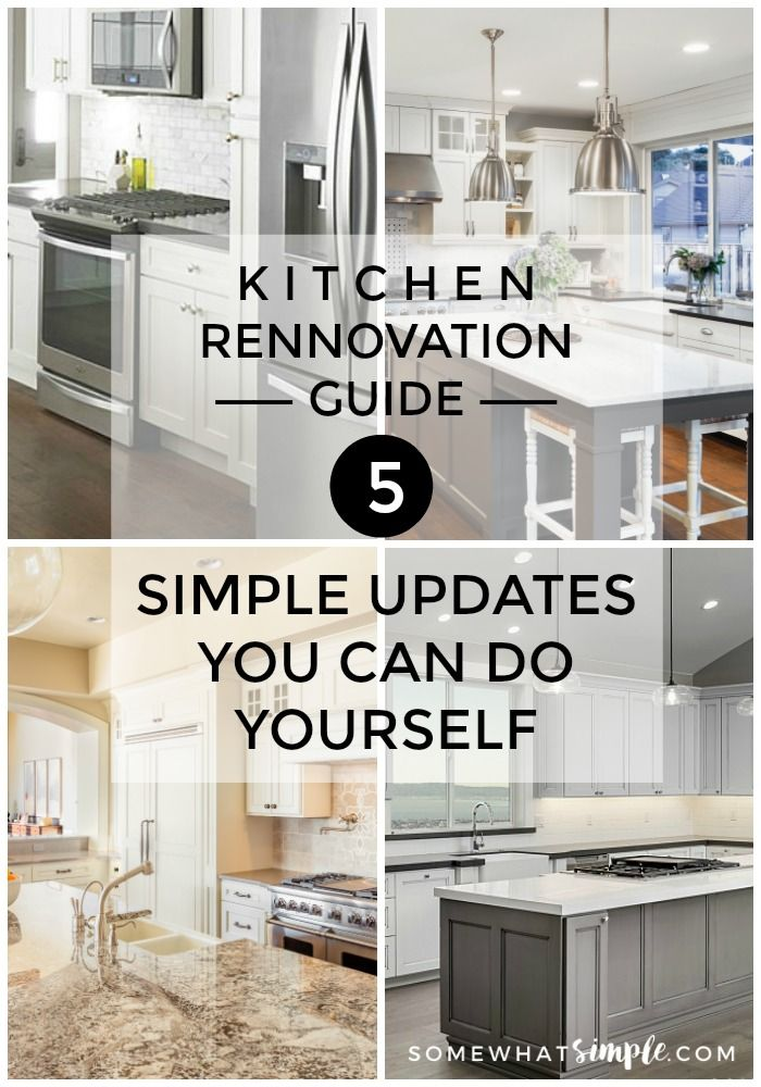 Incredible 5 Simple Kitchen Updates You Can Do Yourself All Time Download Free Architecture Designs Saprecsunscenecom