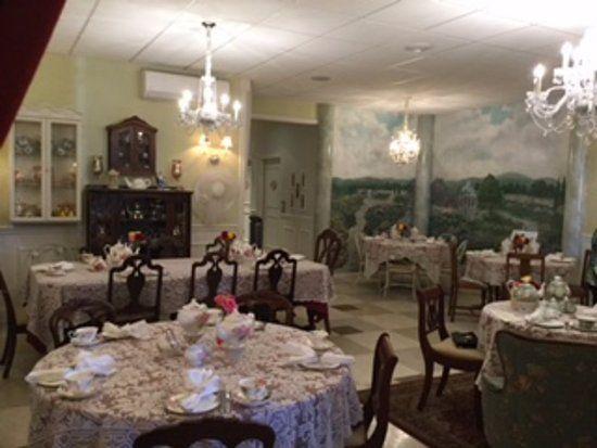 The Grand Tea Room Escondido Tea Room