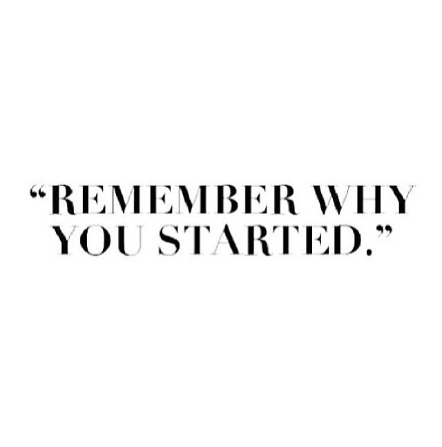 stay motivated. don't give up!