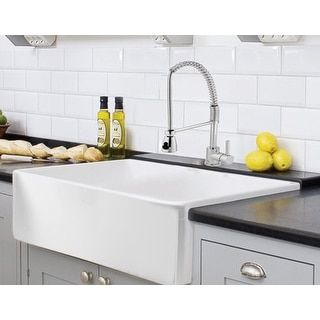 Overstock Com Online Shopping Bedding Furniture Electronics Jewelry Clothing More Farmhouse Sink Kitchen Farmhouse Sink Trendy Kitchen