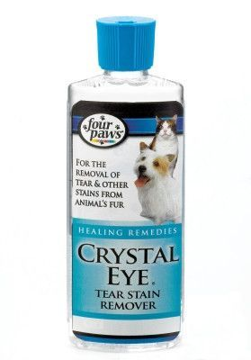 Crystal Eye Pet Tear Stain Removal 4 Oz Crystal Eye Tear Stain Removal Tear Stains
