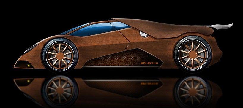 Joe Harmon Takes Five Years Building Wooden V8 Powered Splinter Sports Car Super Cars Car Car Insurance Tips