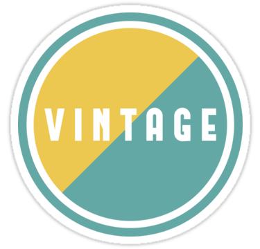 Vintage Circle Vintage Designs Sticker By Teodor T Vintage Designs Vintage Sticker Design