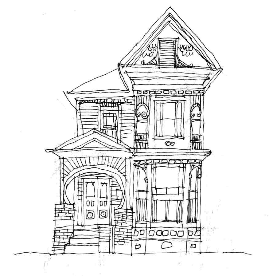 Architecture House Drawing victorian house | houses | pinterest | victorian house, victorian