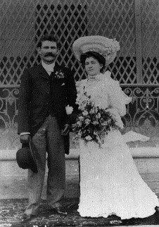 David Clark and Martha's Wedding