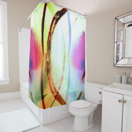 Tropical Tourmaline Shower Curtain Zazzle Com Diy Curtains