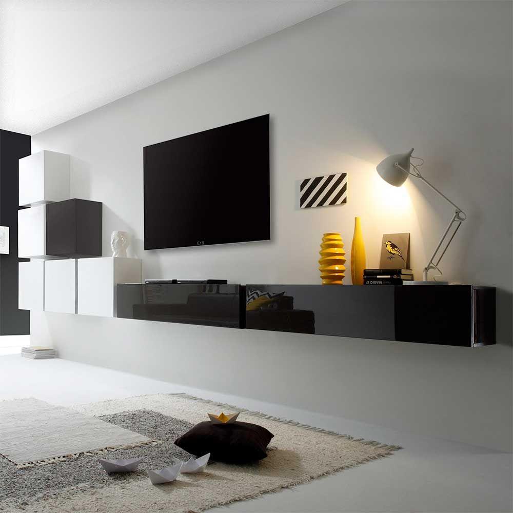 Tv Anbauwand In Weiss Anthrazit Hochglanz Hangend 8 Teilig Jetzt Bestellen Unter Https Moebel Ladendirekt De Wohnzimm Wohnen Wohnzimmerwand Wohnzimmermobel