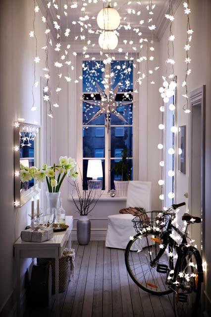 ikea fairy lights hallway decorating ideas home accessories rh pinterest com