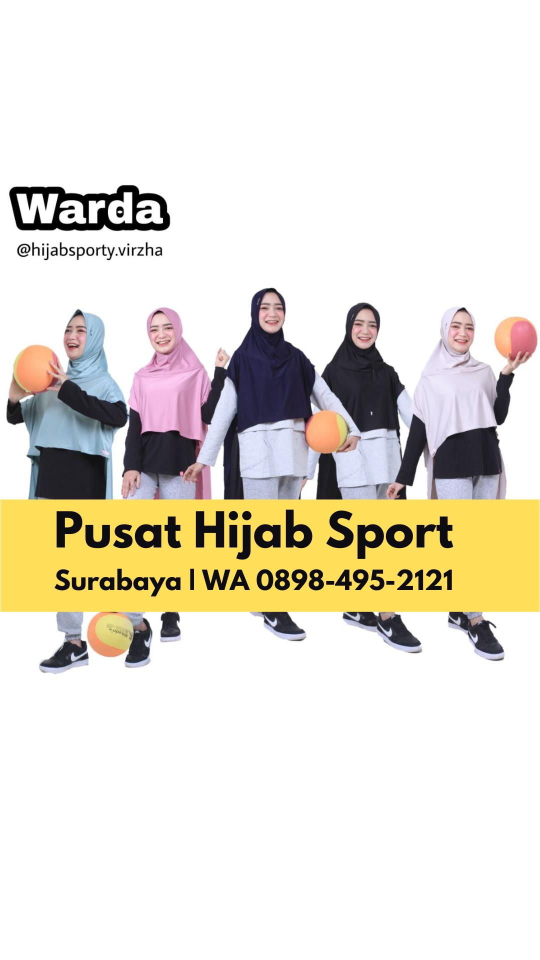 Pin On Jual Hijab Sport Di Surabaya