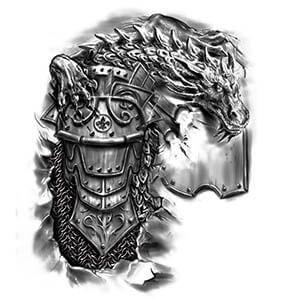 f55bd06a0787c Tattoo Designs Gallery of Artwork and Videos   Tattoo   Armor tattoo ...