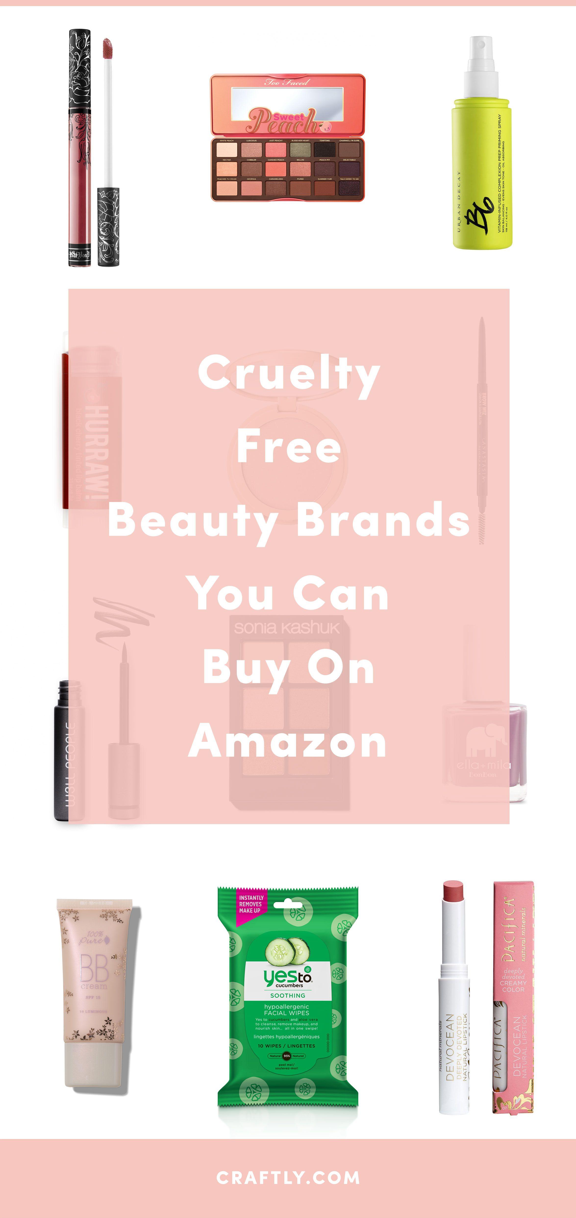 100+ Beauty Brands on Amazon The Ultimate CrueltyFree